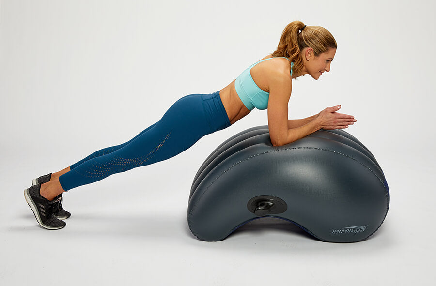 woman-plank Excersise