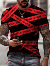 Mens I Am The Danger Crew Neck T-Shirt As Pic / S