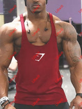 Fitness Sports Waistcoat Vest Red / M