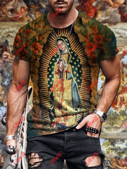 Mens Original Of Guadalupe Virgin Mary T-Shirt As Pic / S