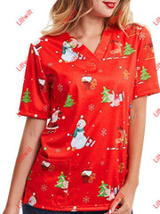 Hotting Christmas Printed T-Shirt