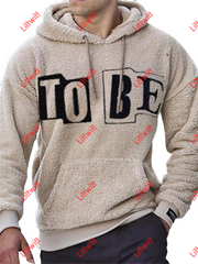 Letter Print Casual Trendy Sweater