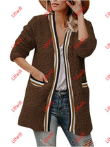 Winter Plush Long Coat Brown / S