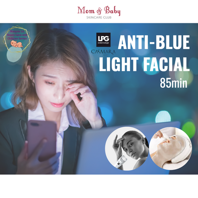 Anti-blue light facial