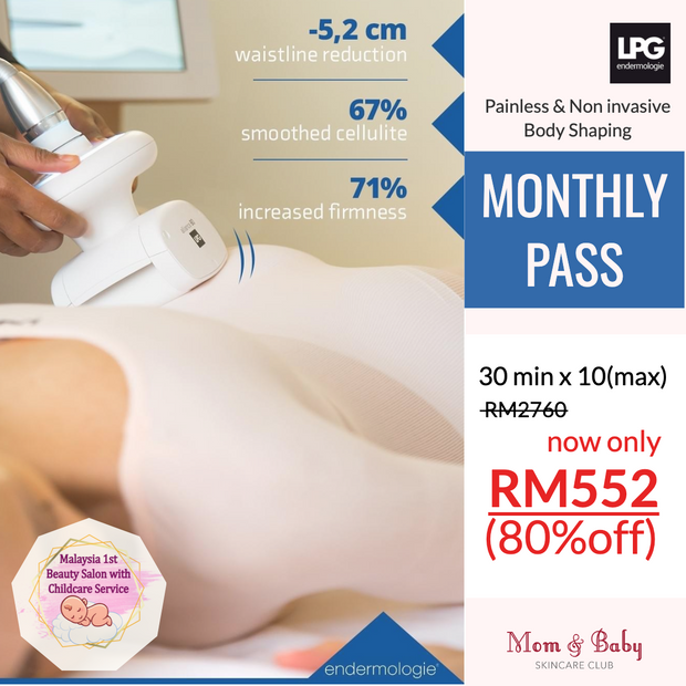 LPG BODY 1 MONTH PASS