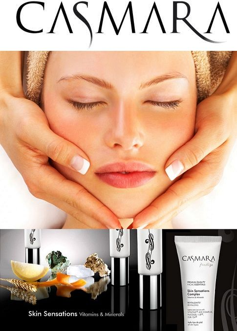 CASMARA Facial: Revitalizing Gold & Vitamin Treatment