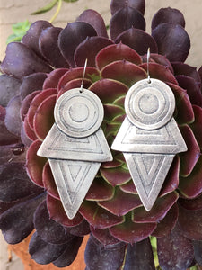 Coyolxauhqui's earrings. XL