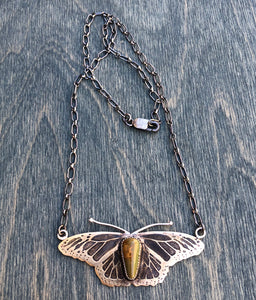 Vuelo de la Mariposa : Necklace