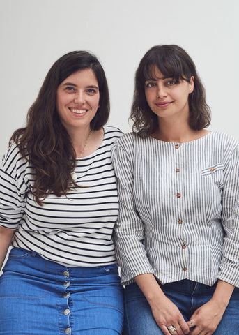 Rebecca Monserat and Alice Ross Co-founders of Forivor and designers of award-winning organic kids bedding