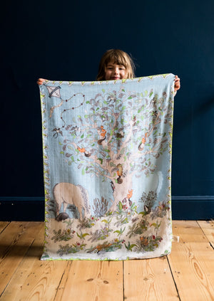 The Enchanted Forest Baby Muslin