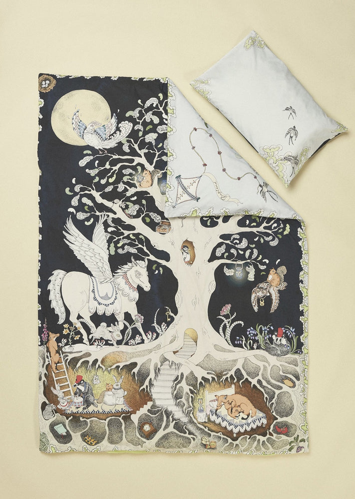 The Enchanted Forest Duvet Set - Cot