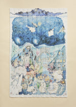 The Legends of the Sea Quilted Blanket