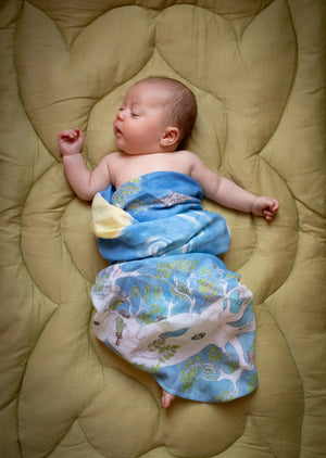 The Space Above the Ground Baby Muslin