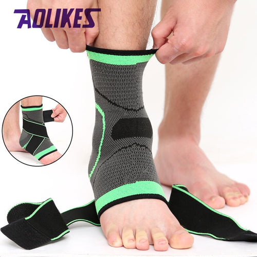 3D Sport Ankle Brace Protector Compression Ankle Support