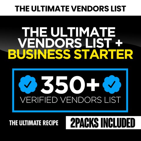 The Ultimate Business Bundle Start Up Kit (Instantly Emailed)