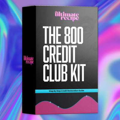 800 Credit Club Kit (Instantly Emailed)