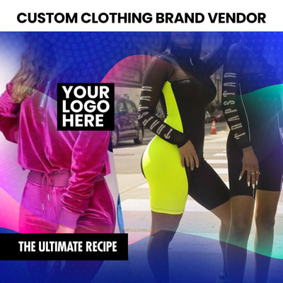 Custom Clothing Brand Vendors List (Instantly Emailed)