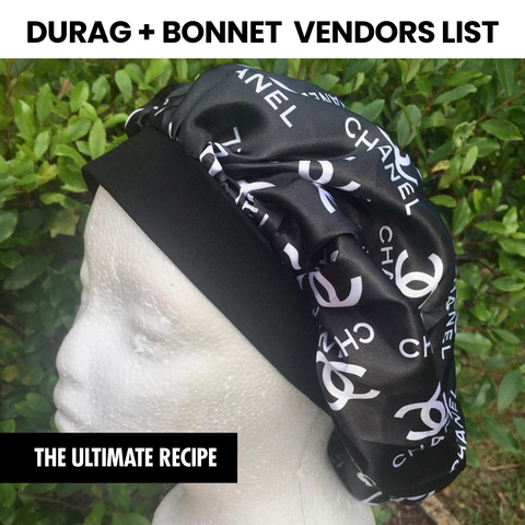 Durag + Bonnet Vendors List (Instantly Emailed)