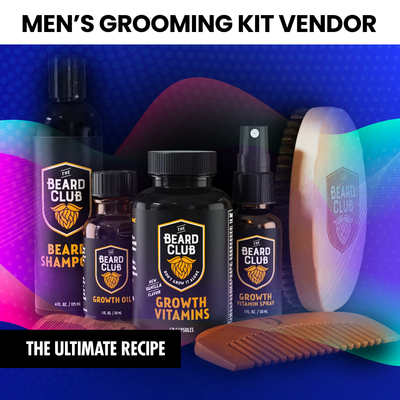 Men's Grooming Kit (INSTANTLY EMAILED)