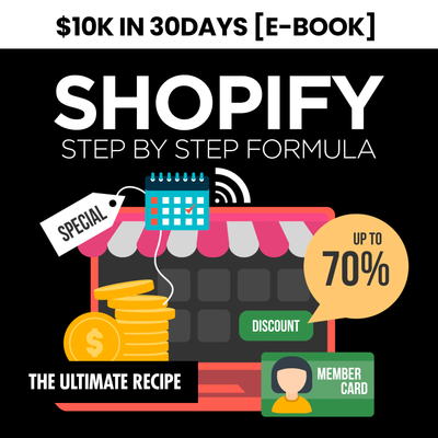10K to 30K E-Commerce Learning Ebook (Instantly Emailed)