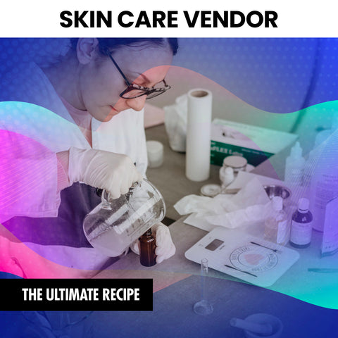 Skin Care Vendor (INSTANTLY EMAILED)