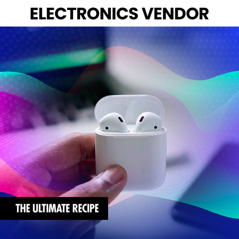 Electronic Vendor List (Instantly Emailed)