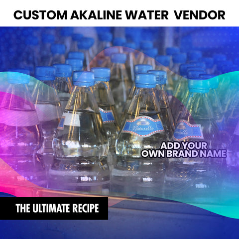 Alkaline Spring Water Vendor (Instantly Emailed)