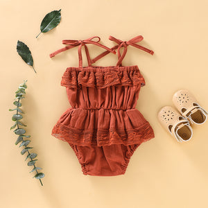 Aubrey Romper (in 2 colors ) - Arrows and Lace Boutique