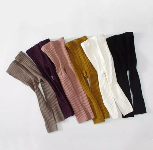 Ribbed Leggings (in 6 colors ) - Arrows and Lace Boutique