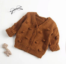 Load image into Gallery viewer, Pom Pom Cardigan - Arrows and Lace Boutique