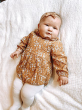 Load image into Gallery viewer, Goldie Romper - Arrows and Lace Boutique