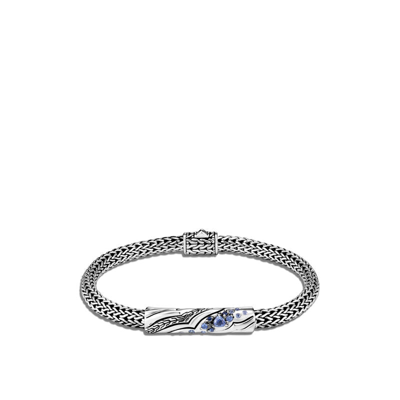 Lahar Station Bracelet with Blue Sapphire
