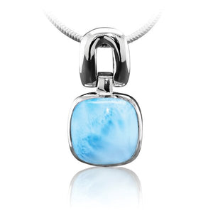 Del Mar Larimar Pendant / Necklace