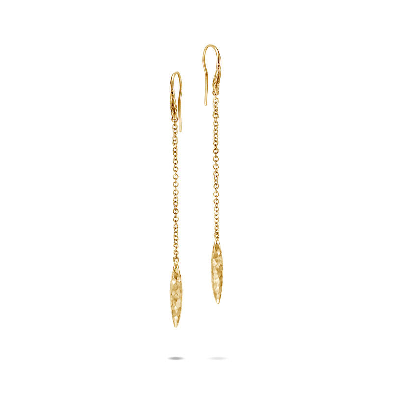 Classic Chain Spear Linear Drop Earring