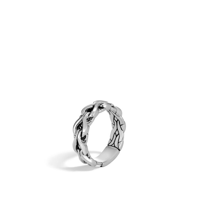 Asli Classic Chain Link 6MM Band Ring