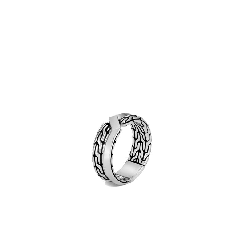 Asli Classic Chain Link Band Ring