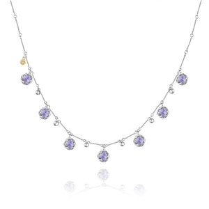 Sonoma Skies Multi-Gem Drop Necklace