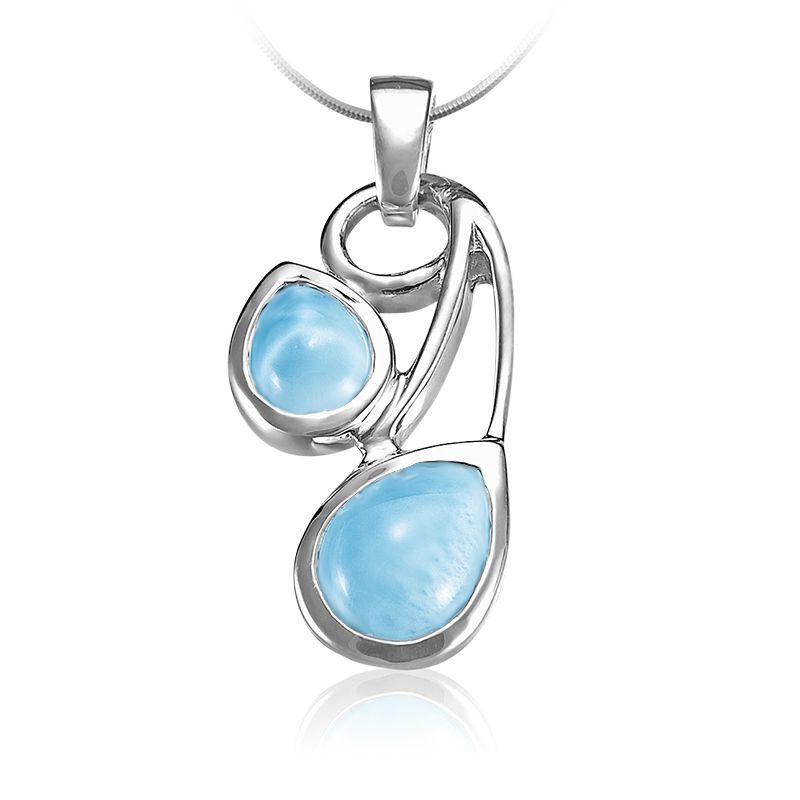 Seduction Larimar Pendant/Necklace