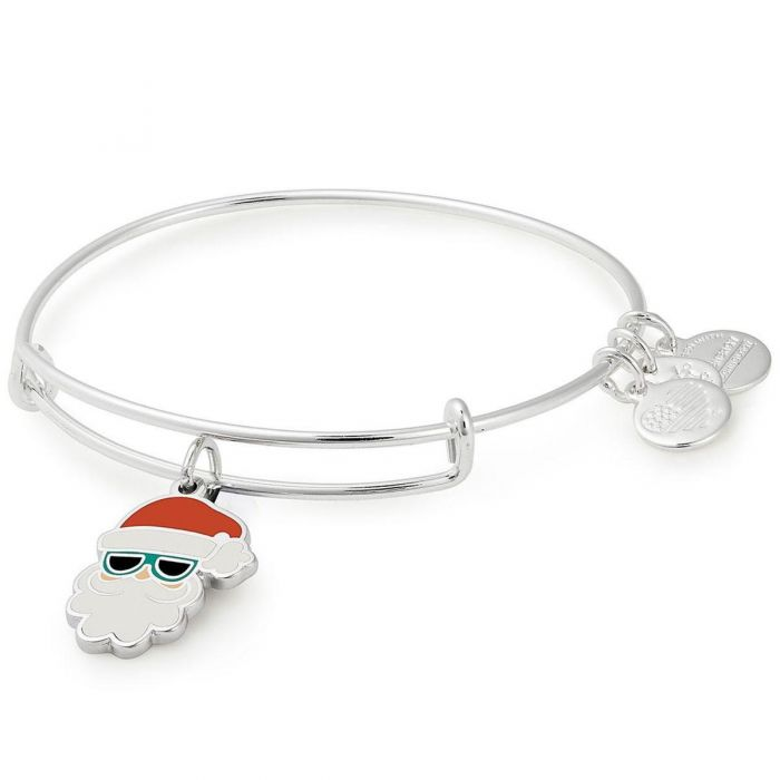 Sunglasses Santa Charm Bangle Bracelet