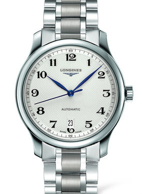 SILVERED 12 ARAB The Longines Master Collection