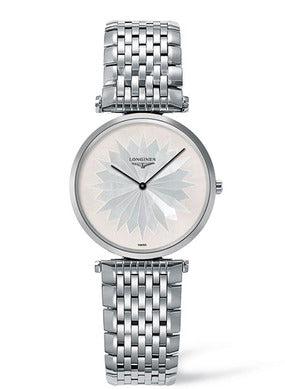 MOTHER OF PEARL WHITE STARLa Grande Classique de Longines