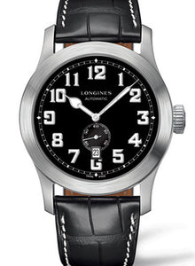 BLACK 12 ARABThe Longines Heritage Military