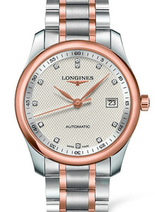 SILVERED 13 DIAMONDS The Longines Master Collection