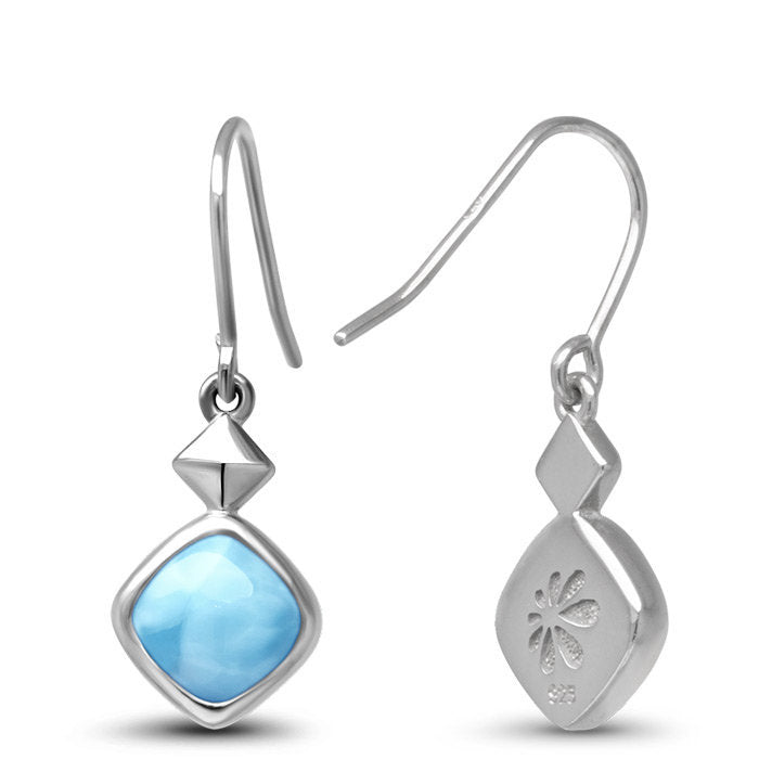 Maya Larimar Earrings