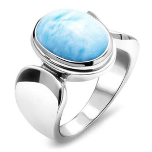 Caressa Larimar Ring