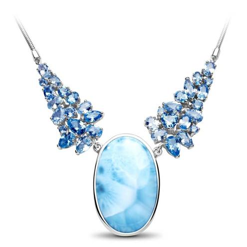 Grace Larimar Necklace