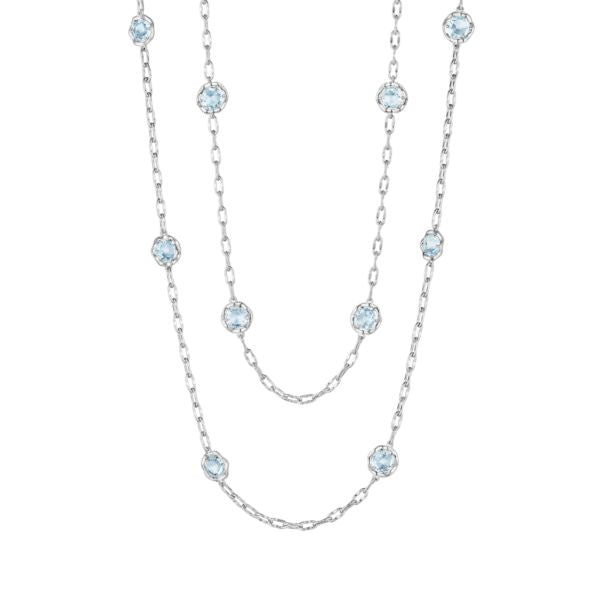 "38"" Candy Drop Necklace featuring Sky Blue Topaz"