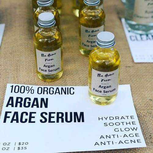 Organic Argan Face Serum