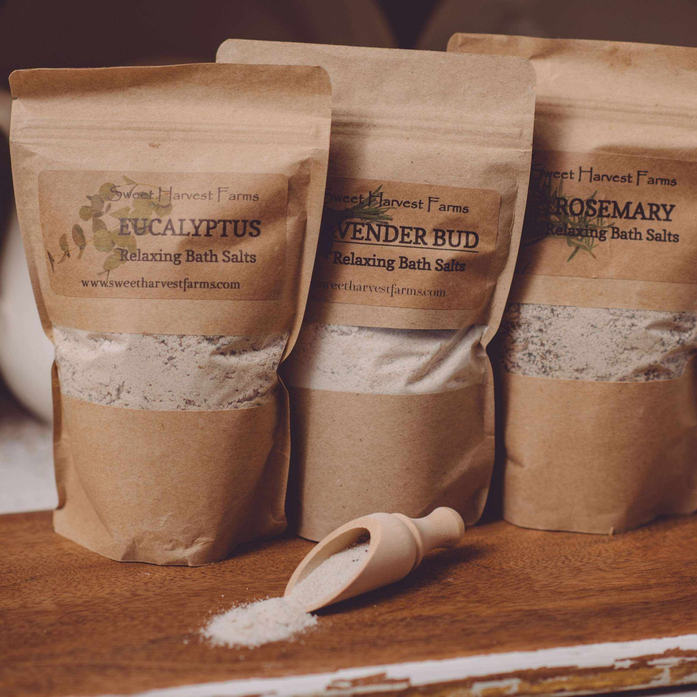 Bath Salts - Organic, Relaxing, Therapeutic AND Food Grade Bentonite