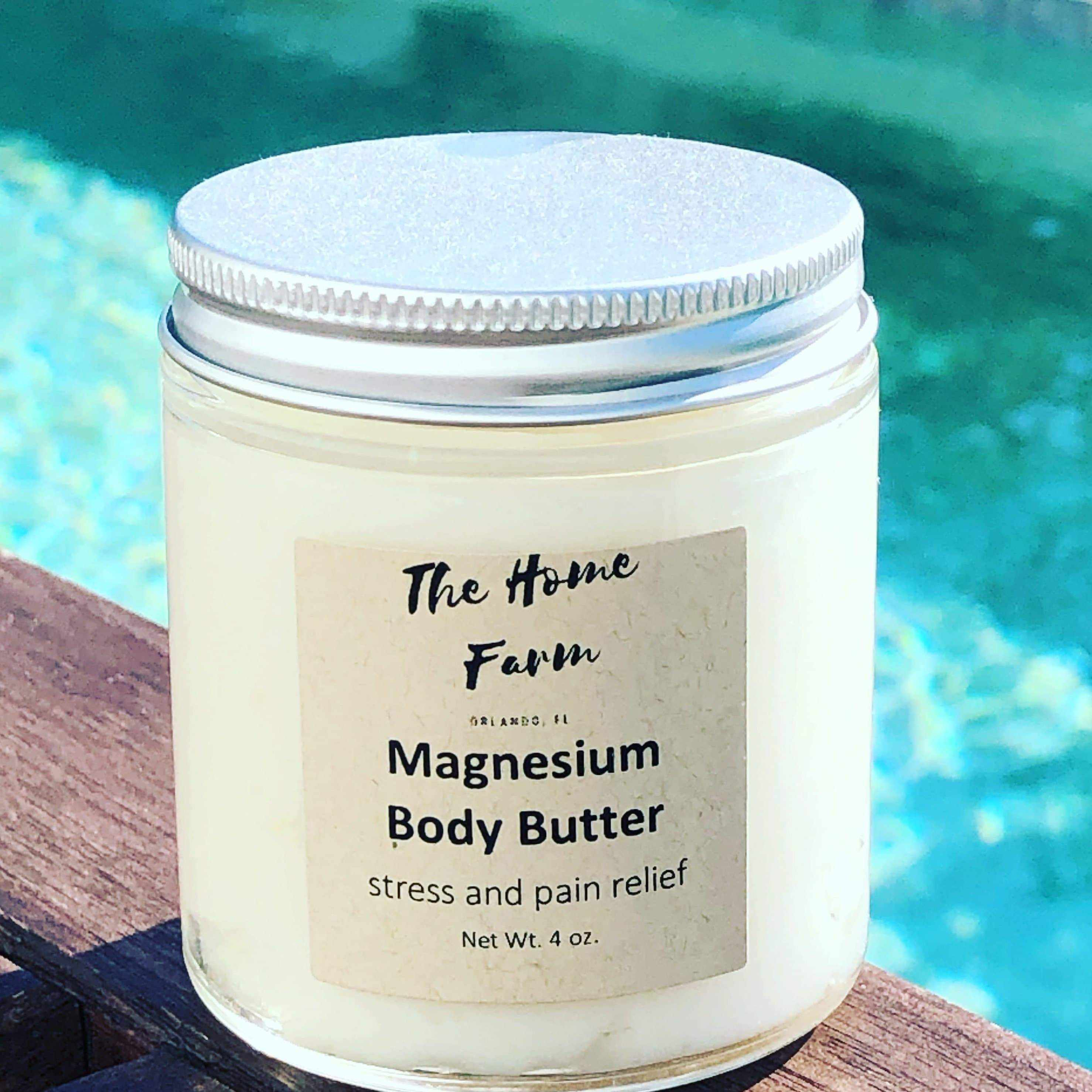 Organic Magnesium Body Butter